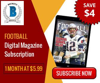 Football Digital Magazine 1 Month Subscription at $5.99