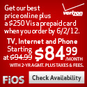 Ends 3/17/12 - Verizon FiOS Triple Play $84.99/mon