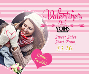 20% off for Valentine's Deal