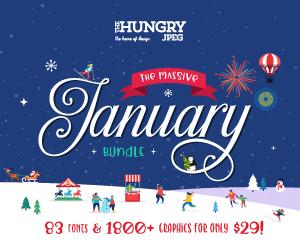 SALE!! 97% OFF Get The Massive January Bundle!
