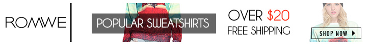 Shop for popular sweatshirts and sweaters at ROMWE.com
