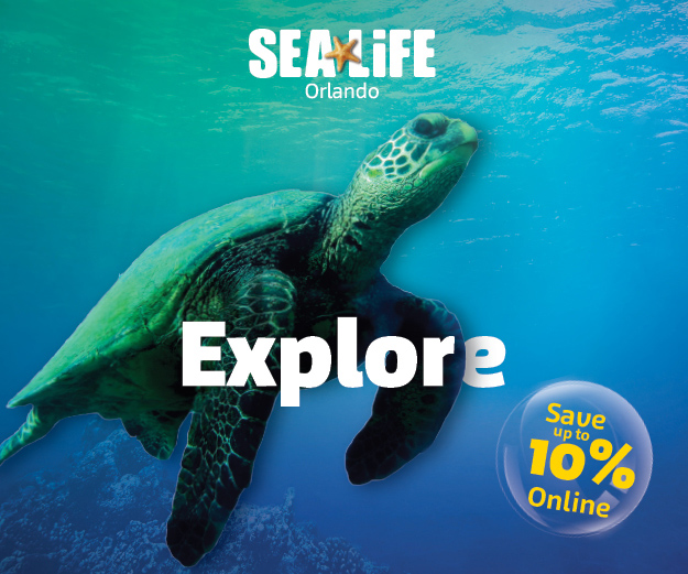 Visit SEA LIFE Orlando