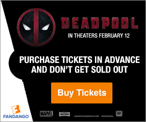 Deadpool Tickets