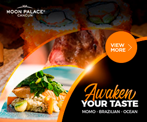 At Moon Palace Cancun kids stay for free.