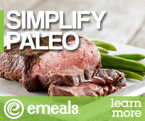 Simplify Paleo with eMeals Meal Plans