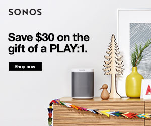 Sonos.com Holiday Deal. $30-$50 off.