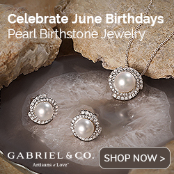June Birthstone Pearl Fine Jewelry Banner