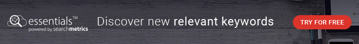 Searchmetrics Essentials - DIscover new relevant keywords