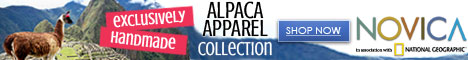 468x60 Shop Alpaca Apparel Collection