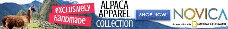 468x60 Shop Alpaca Apparel Collection
