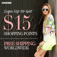 Sign up to get $15 shopping points