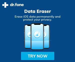 dr.fone-Data Eraser - ios