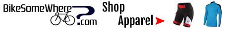 BikeSomeWhere.com   Shop Apparel