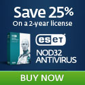 NOD32 v3.0 - Save 25% - Download Now