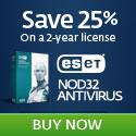 ESET NOD32 Antivirus 5 - Save 25% - Download Now