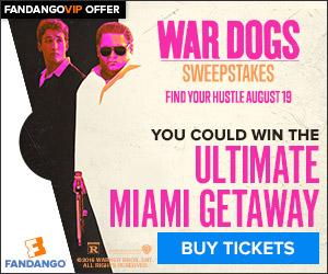 Fandango - War Dogs Movie Sweepstakes