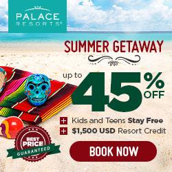 Palace Resorts in Cancun