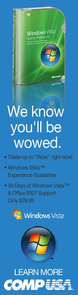 Windows Vista at CompUSA