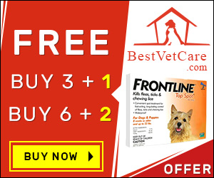 Get FREE Pipettes of Frontline Top Spot, best vet care coupon code