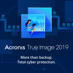 Image for EN Acronis True Image 2019 | Launch Banner 250*250