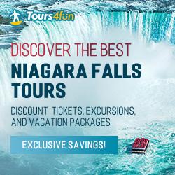 Feature 3: Tours4Fun Discover the best Niagara Falls Tours!