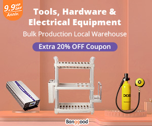 Extra 20% OFF for Tools, Hardware & Electric Equipment Promotion