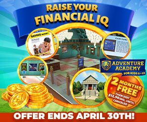 Get 2 Months FREE of Adventure Academy!