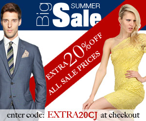20% Further Reduction on already discounted items with promo code EXTRA20CJ