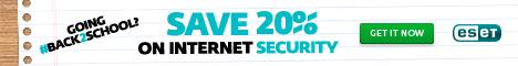 ESET NOD32 Antivirus - Save Up To 25%