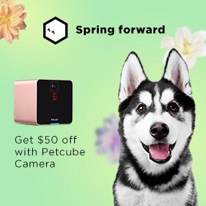 Petcube Spring Sale $50 Off Petcube Camera