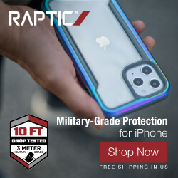 Raptic iPhone 12 Shield Ad Banner - 250x250