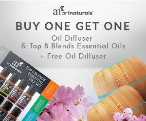 Buy One Get One – Free Diffuser 300 x 250 Top 8 Blends