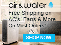 Coupons, Deals for Portable Air Conditioners, Swamp Cooloers, Air Purifiers – Hard To Find