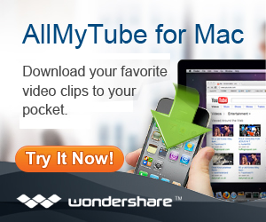 Wondershare AllMyTube for Mac