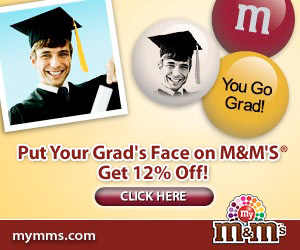 Free Bonus Bag - Personalized MY M&M'S® Candies.