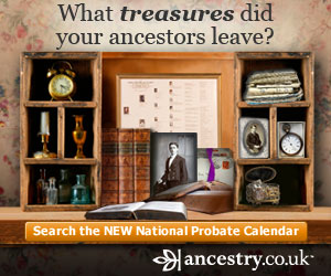 National Probate Calendar at Ancestry.co.uk