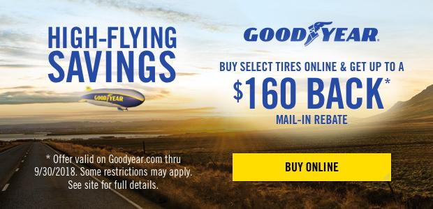 Goodyear Tire Rebates 2018