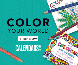 Shop Coloring Books at Calendars.com Now!