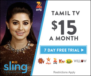 Stream Tamil TV With Sling TV
