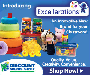 Discount School Supply Promo - Excellerations New Products