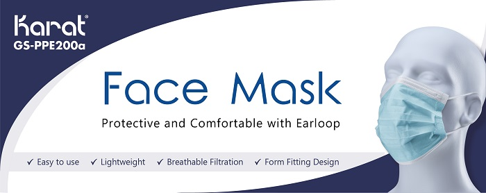 Face Mask - Protective and Comfortable with Earloop