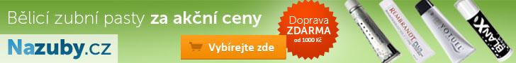 Nazuby.cz - bělicí zubní pasty