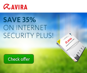 Avira: 35% OFF our top securit...