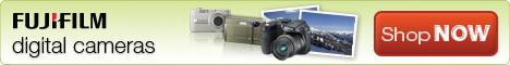 Hot Deals on Fujifilm FinePix Digital Cameras
