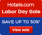 Hotels.com Labor Day Sale