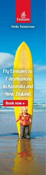 Emirates Flights to Australia & New Zealand