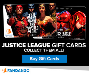 Justice League Gift Cards