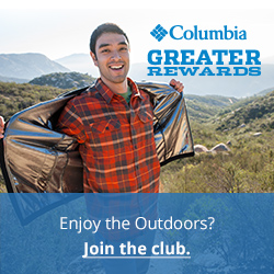 Columbia Sportswear Greater Rewards