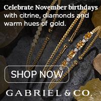 Celebrate November Birthdays Birthstone Fine Jewelry Banner