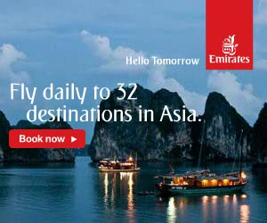 Emirates: Fly daily to 32 destinations in Asia
